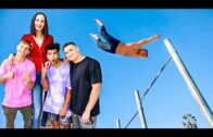 Ekaterina Lisina – Doing Flips With The Tallest Woman